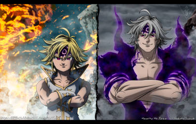 Nanatsu No Taizai 265 Almighty Demon Kings by IITheYahikoDarkII
