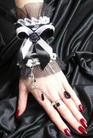 Gothic Lolita Cuff 14 by Estylissimo