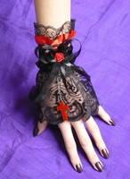 Vampire Goth Cuff by Estylissimo