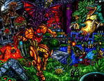 Super Metroid - Running the Gauntlet by SoulStryder210