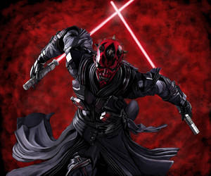 Darth Maul (Ravager) by SoulStryder210