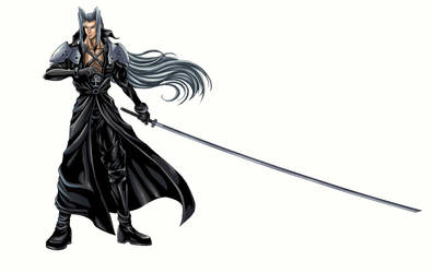 FF 7 - Sephiroth (Full) by SoulStryder210