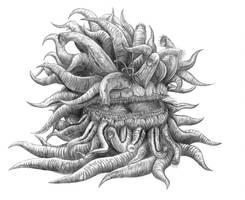 Final Fantasy XV - Malboro (Line Art) by SoulStryder210