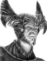 Steppenwolf (Justice League) by SoulStryder210