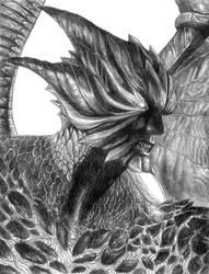 Dante (Devil Trigger) - Devil May Cry 5 by SoulStryder210