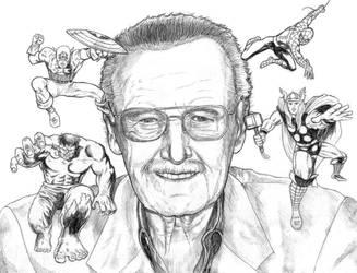 Stan Lee Tribute by SoulStryder210