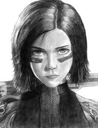 Alita Battle Angel by SoulStryder210
