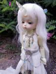 The Little Unicorn Girl by Kelaria-Daye