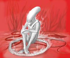Slightly alien by Katicin