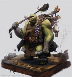 Orc Chef by Vaejoun