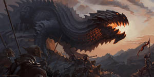Lord of the rings - Glaurung by Vaejoun