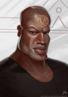 SG1 Teal'c by Vaejoun