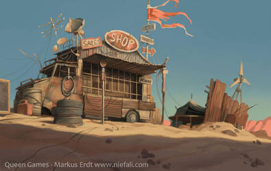Armageddon - Trading outpost by Vaejoun