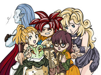 Chrono Party by animemyster