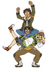 Garrison Trio by animemyster