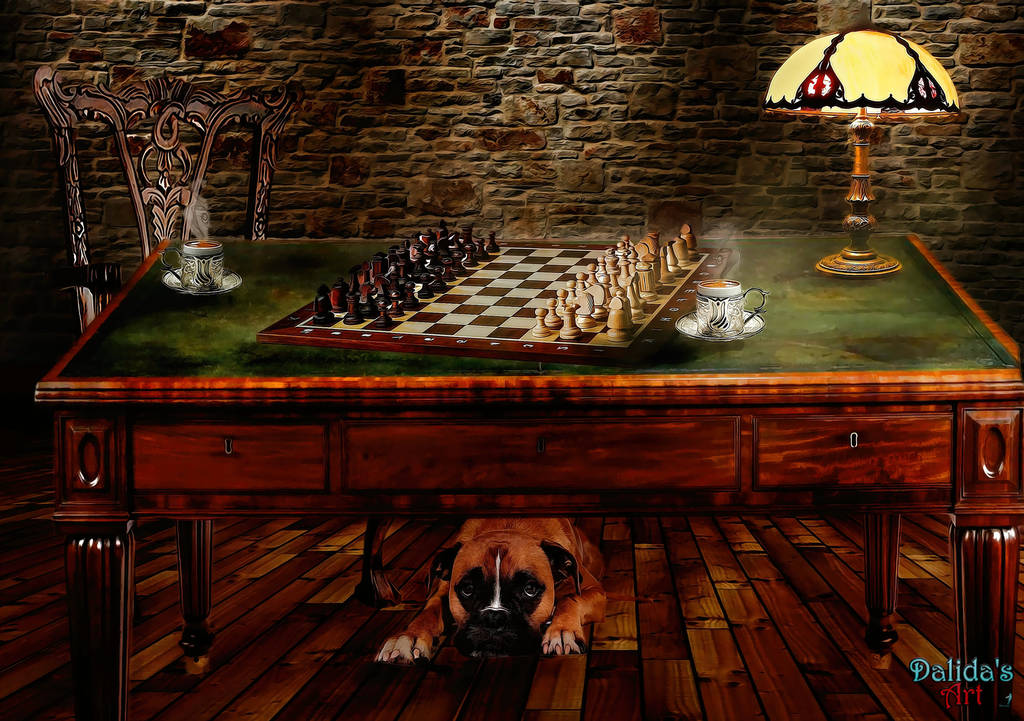 Ready For A Chess Game? by makiskan