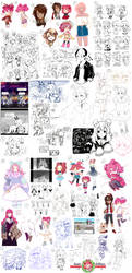 EE: art dump by AmaiCandy
