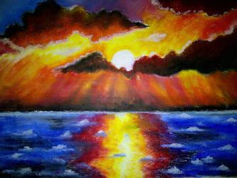 Ocean Flame by Sunaka-Tsuna