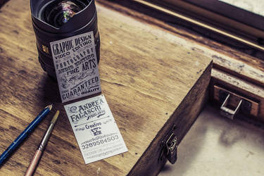Creative Business Card by FraterOrion