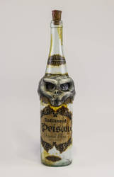 Skull poison Bottle by FraterOrion