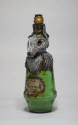Werewolf Bottle by FraterOrion