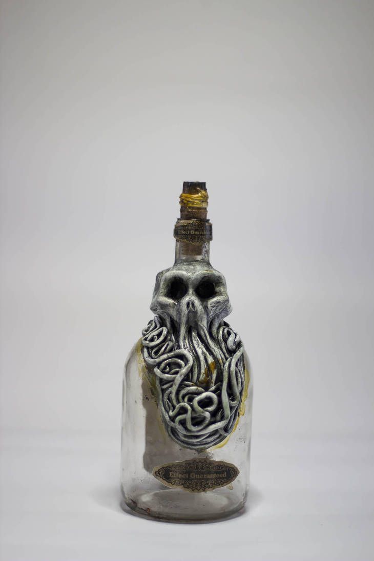 Lovecraftian Bottle by FraterOrion