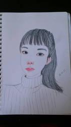 pencil study  by Mairuchi