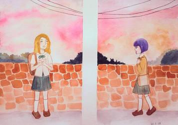 On the horizon by Mairuchi
