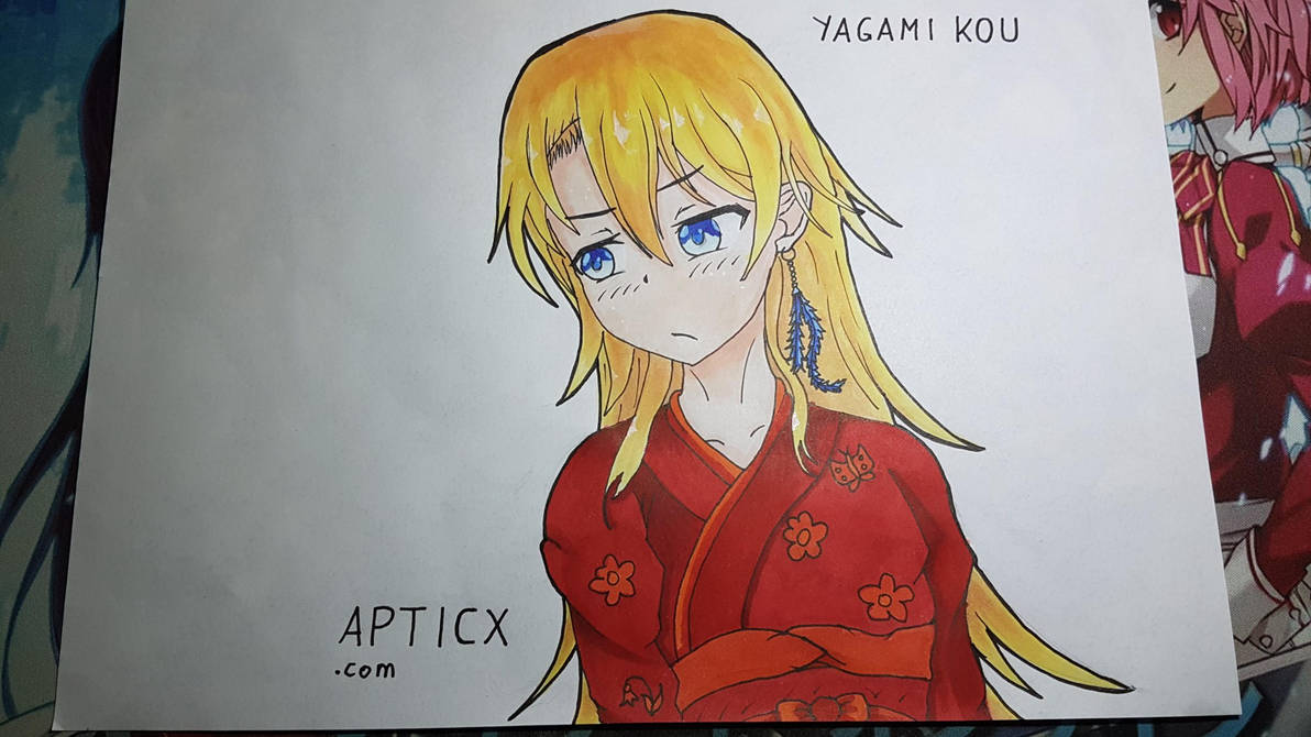 [Commission] Yagami Kou by Apticx