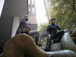 Gotham Guardians by Bluebird0020