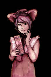 girl in pink by ShidouKoji555