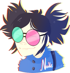 Noodle - Gorillaz by Choco-Floof