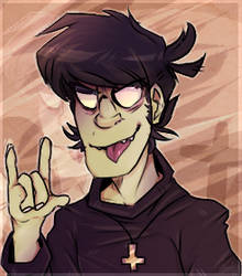 Murdoc Niccals - Gorillaz by Choco-Floof
