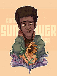 SUNFLOWER - Miles Morales - ITSV by Choco-Floof