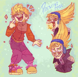 Present Mic - Acceptable in the 80s - BNHA / MHA by Choco-Floof