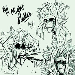 All Might/ Toshinori Yagi - MHA by Choco-Floof