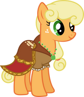 Applejack Dress - Journey of the Spark Vector by Hourglass-Vectors
