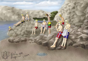 APH: Nordics+Baltics+Beach by Lord-Evell