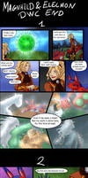 Magnhild and Elecmon: DWC Ending by Lord-Evell