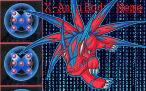 BnB: X antibody meme - Elecmon X by Lord-Evell