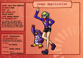 TDA -  Judge Bro and Penguinmon by Lord-Evell