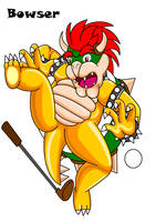 Falling for Bowser by Bowser2Queen