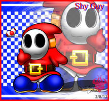 One content and loved Shy Guy by Bowser2Queen