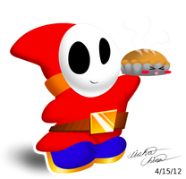 Shy Guy Pie X//D by Bowser2Queen