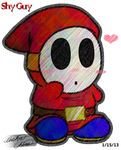 Cutie Tootie lovey Shy Guy by Bowser2Queen