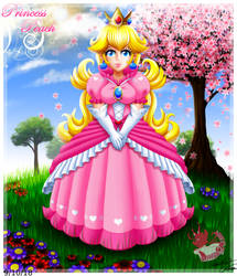 Princess Peach 2010 remake by Bowser2Queen