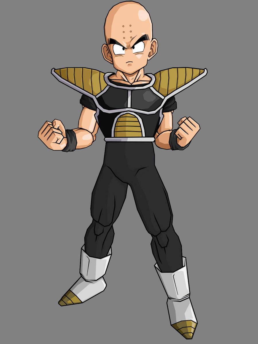 Krillin Armor Updated By Kingcrackrock On Deviantart