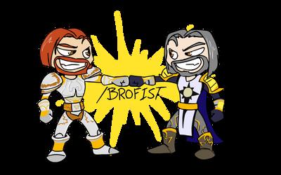Brofist by chaoticwaltz