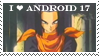Android 17 Stamp by GamingGirl73