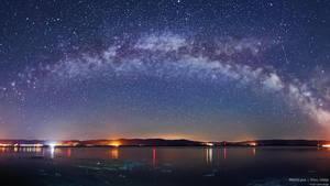 Milky way by BorisMrdja